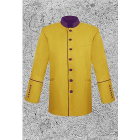 Mens Gold Clergy Jacket