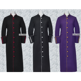 Women's Clergy & Pastor Trim Robes – Promo Clerical Cassocks