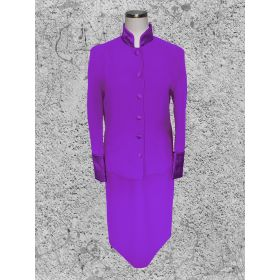 Women's Purple Clergy Suit