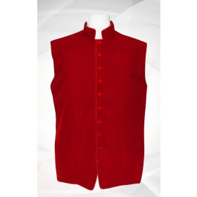 Men's Classic Clergy Vest - Red