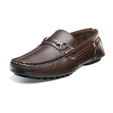 Men's Stacy Adams Dio Casual Dress Loafer - Brown