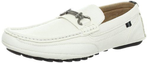Men's Stacy Adams Dio Casual Dress Loafer - White