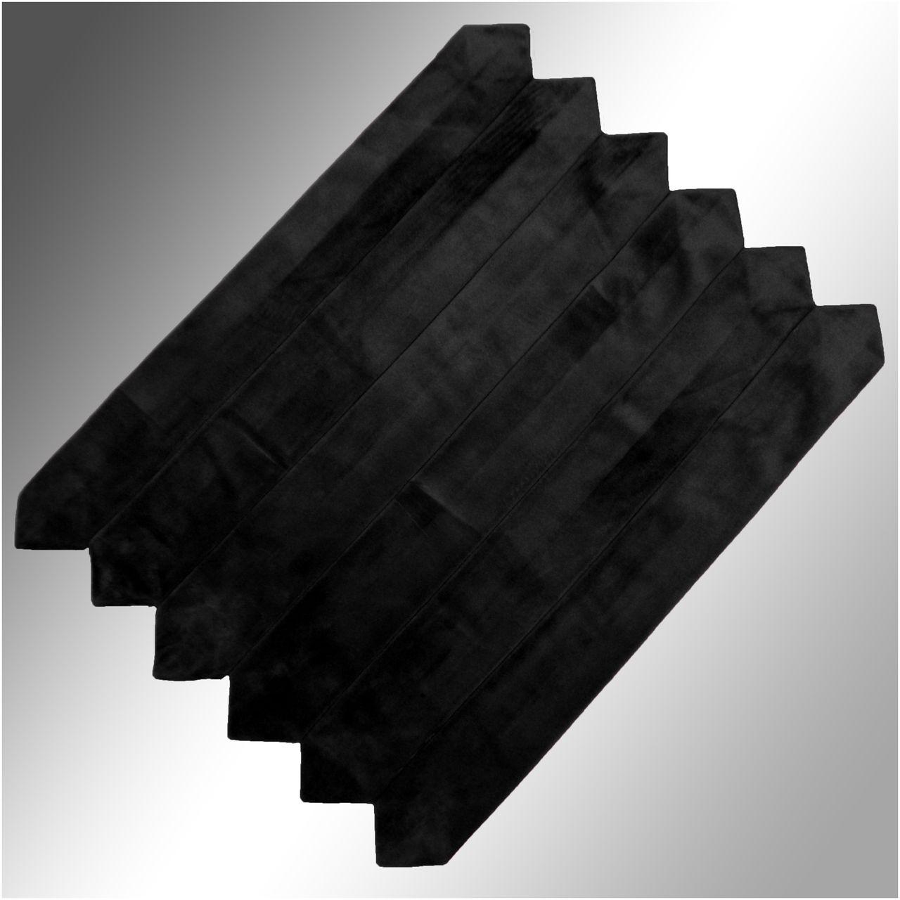 Velvet Clergy Doctor Bars (Set of 6) - Black
