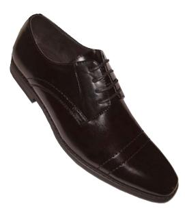 Men's Classy Cap-Toe Oxford Dress Shoes - Brown