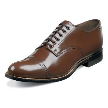 Stacy Adams Madison Dress Shoes Brown