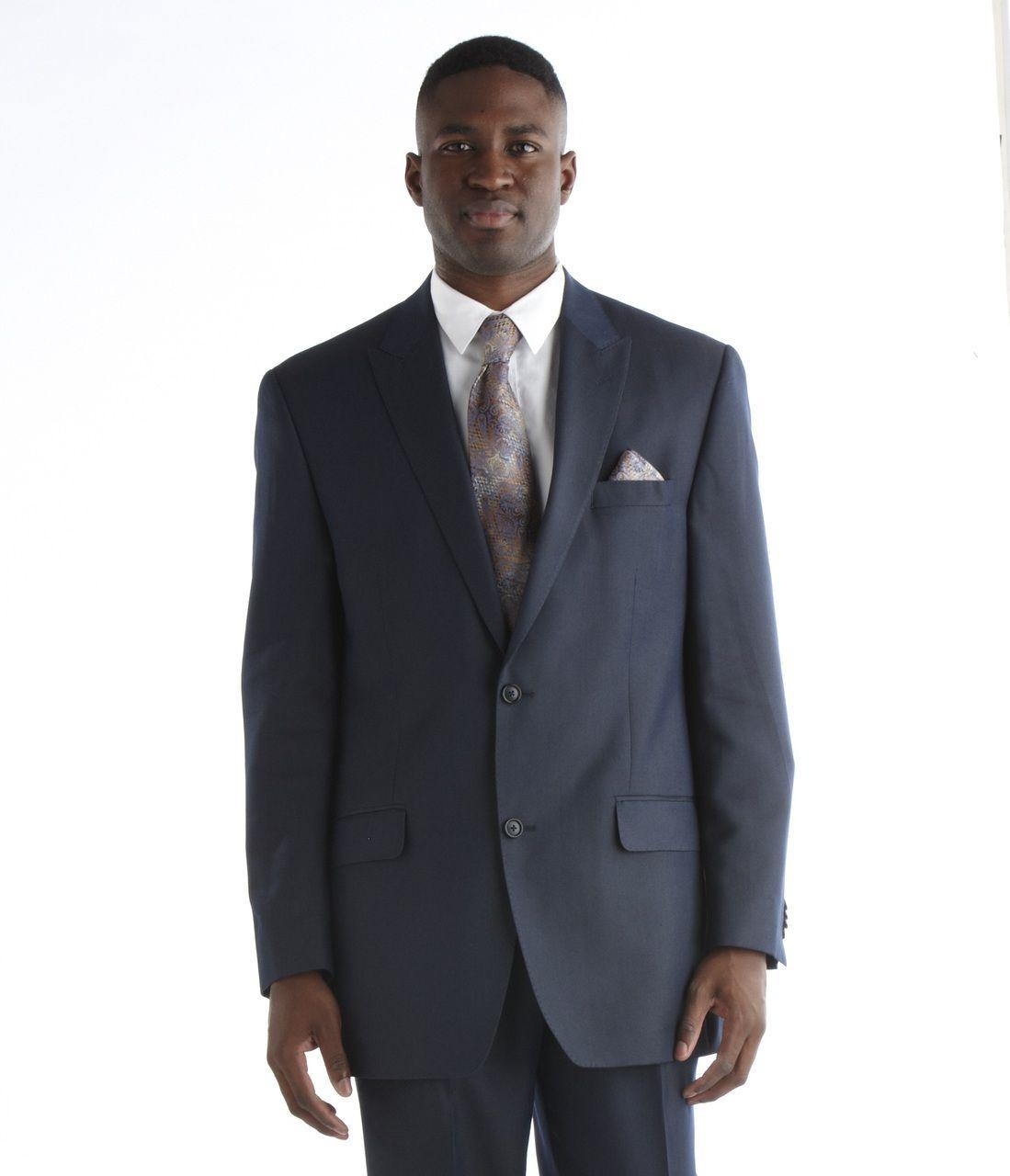 Men's Sean John Suit - Navy Blue