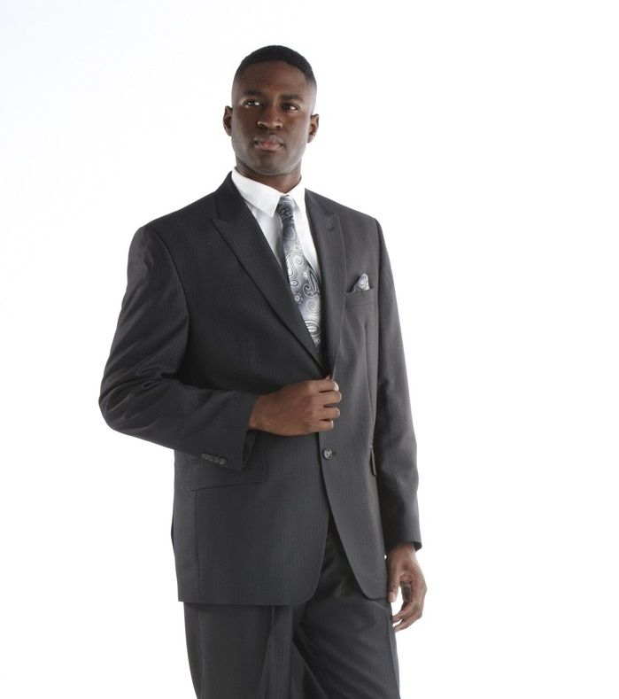 *Featured* Men's Sean John Steel Suit - Black