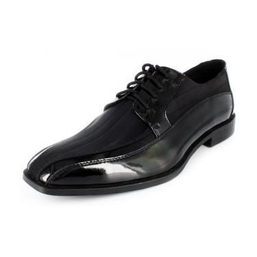 Stacy Adams Royalty Satin Dress Shoes Black