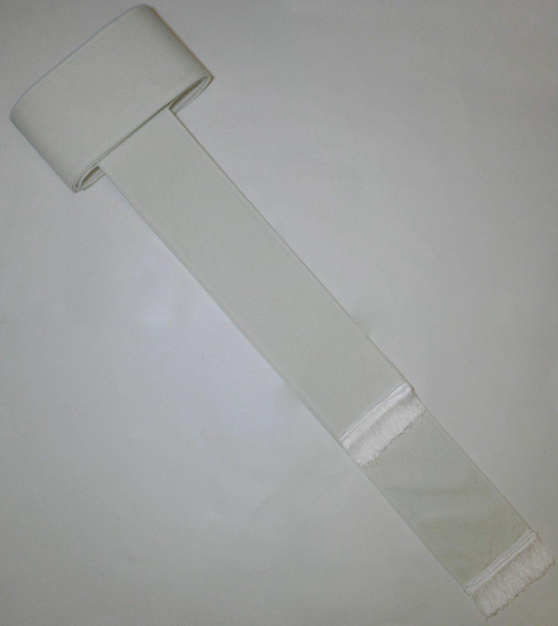 Band Cincture Belt - Solid Creme