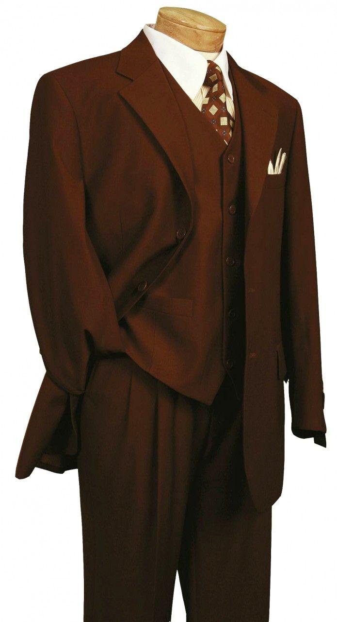 Men's Italian-Style 3 Pc. Suit - Monroe