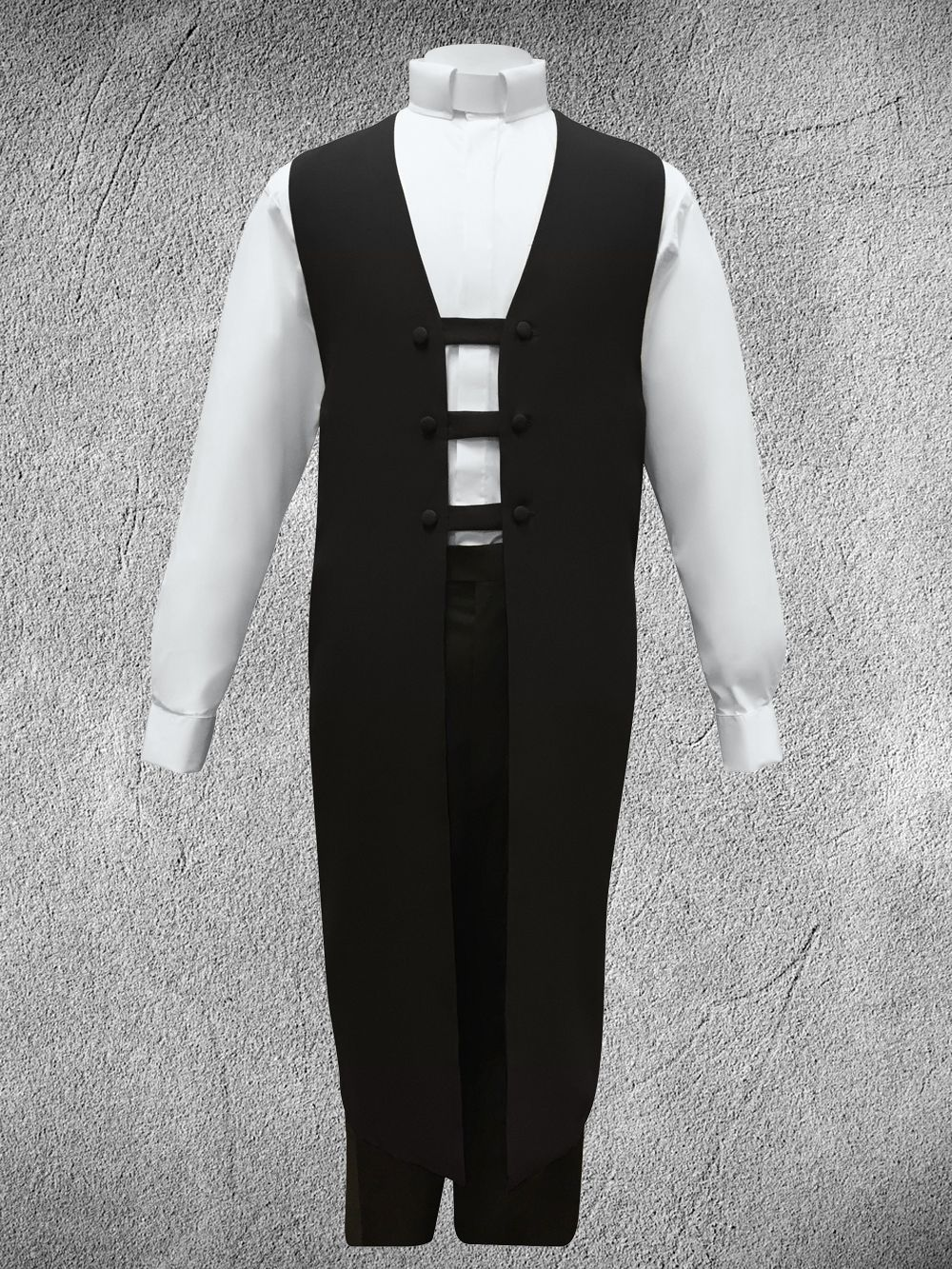 Ministerial Vesture Set Black/White