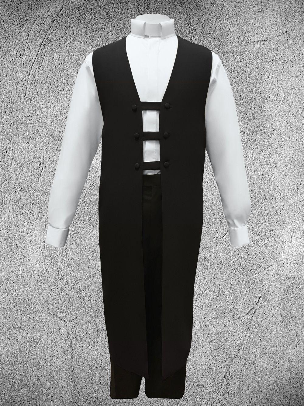 Ministerial Vesture Set Black/White