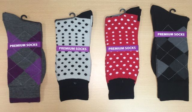Men's Dress Socks Combo - 4 Pairs   G502