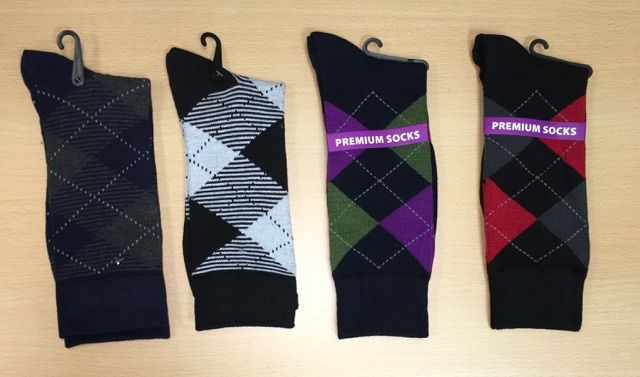 Men's Dress Socks Combo - 4 Pairs | G505