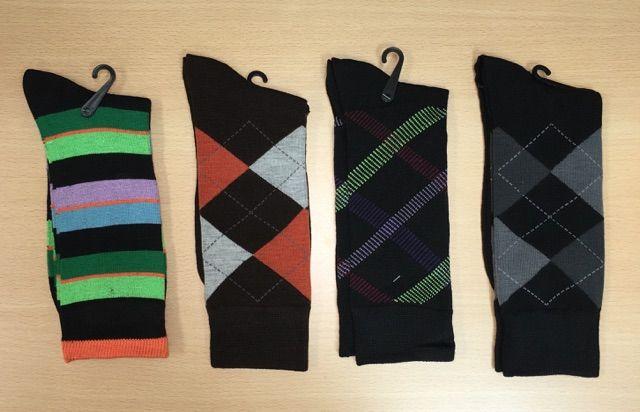 Men's Dress Socks Combo - 4 Pairs | G506