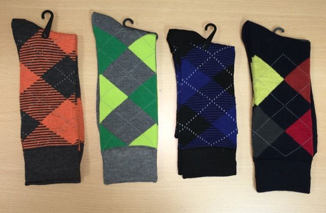 Men's Dress Socks Combo - 4 Pairs   G509