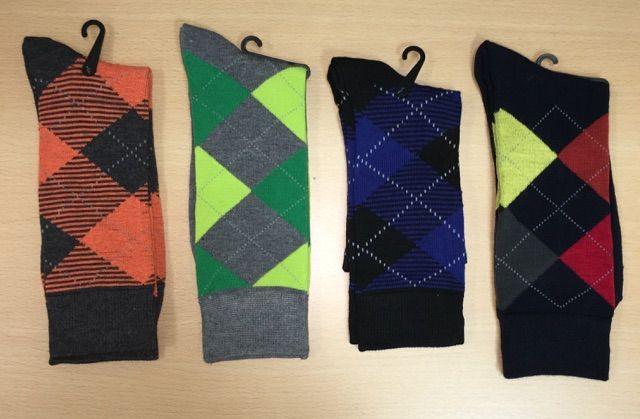 Men's Dress Socks Combo - 4 Pairs | G509