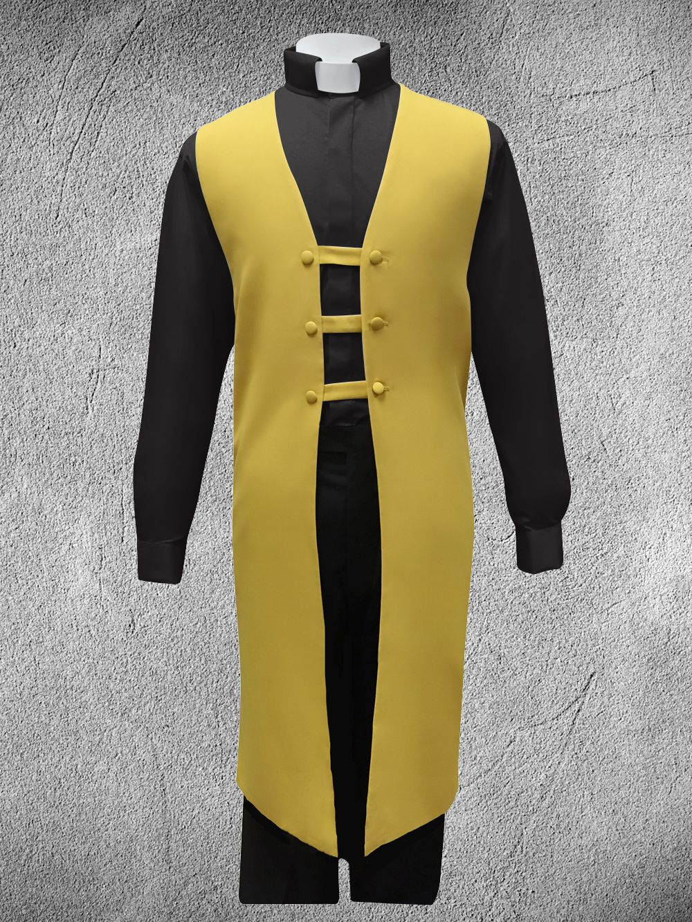 Ministerial Vesture Set Gold/Black