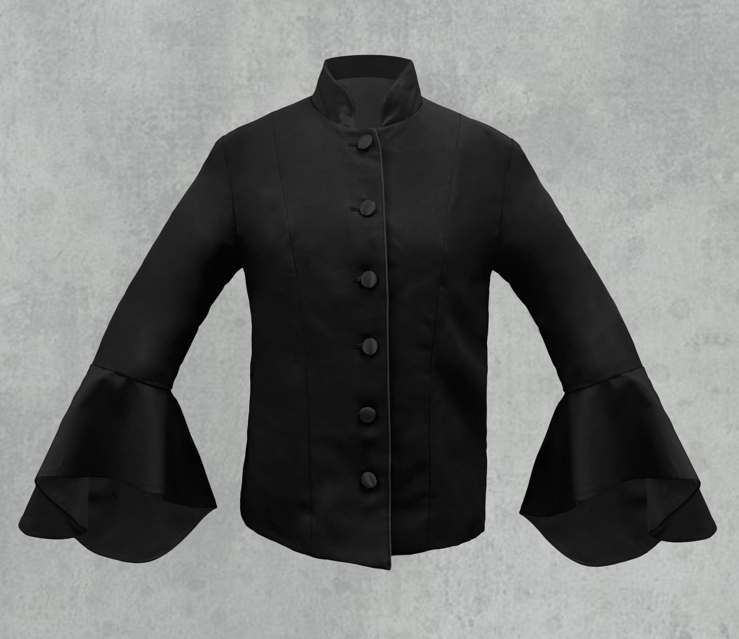 Black on Black Women's Clergy Jacket