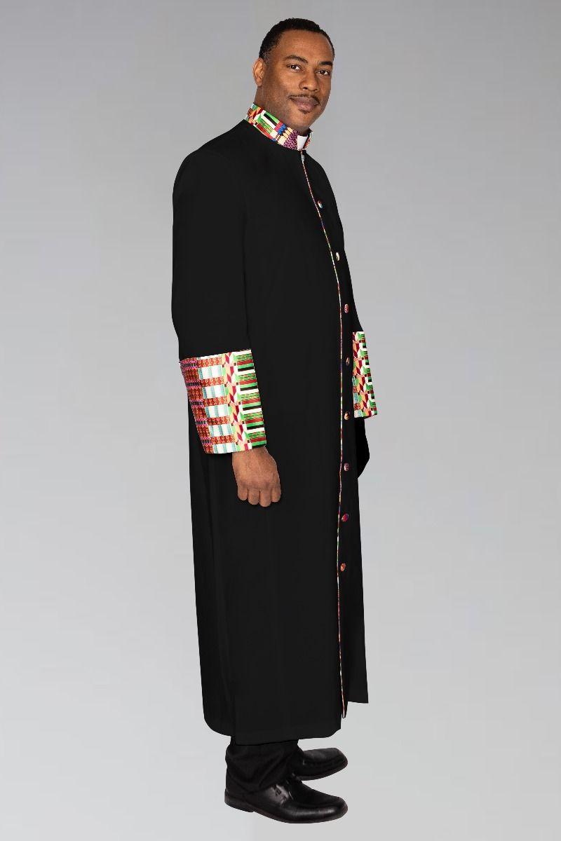 Men's Clergy Robe Kente African