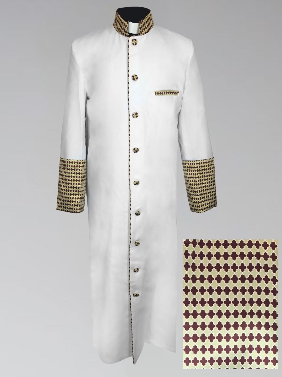 Men's White Christmas Holiday Robe