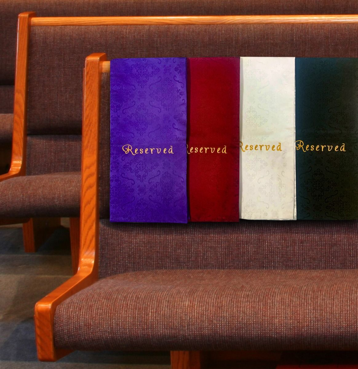 Church Pew Seat Covers