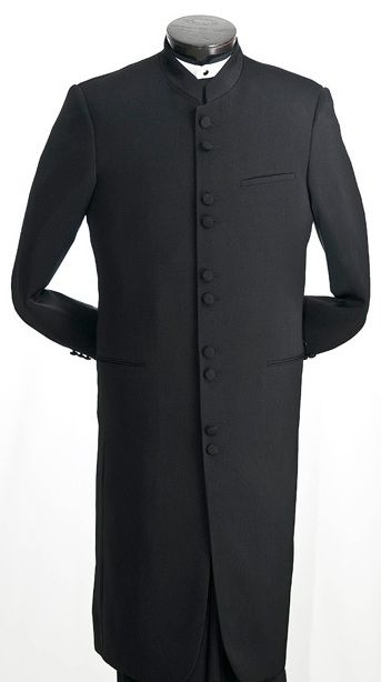 Full-Length Clergy Pastor Suit