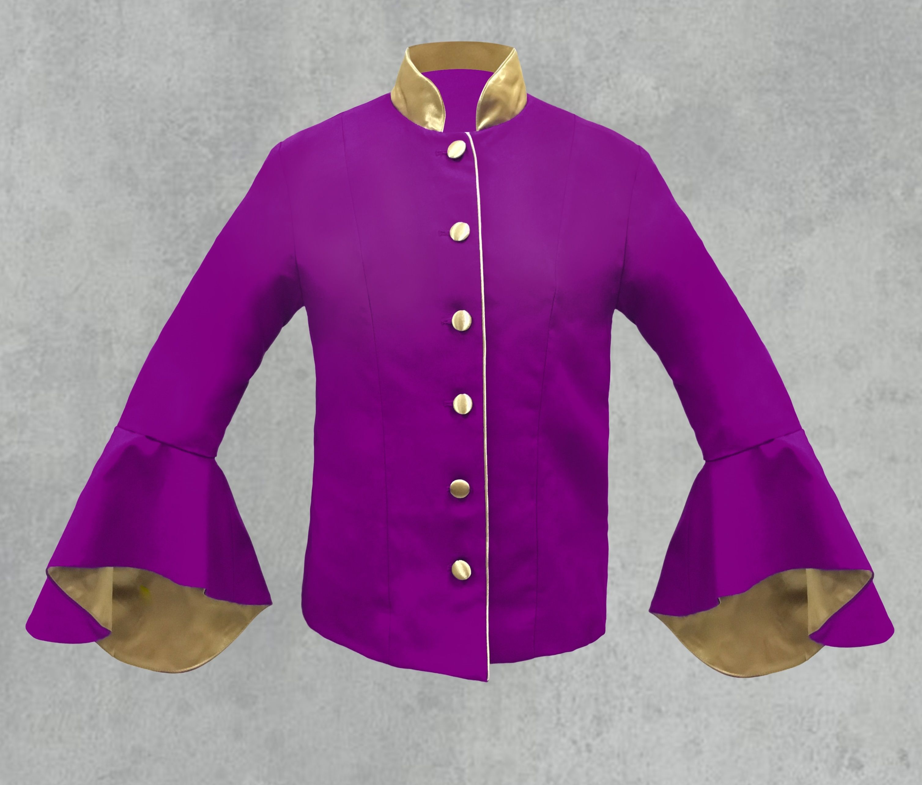 Women's Purple Clergy Jacket
