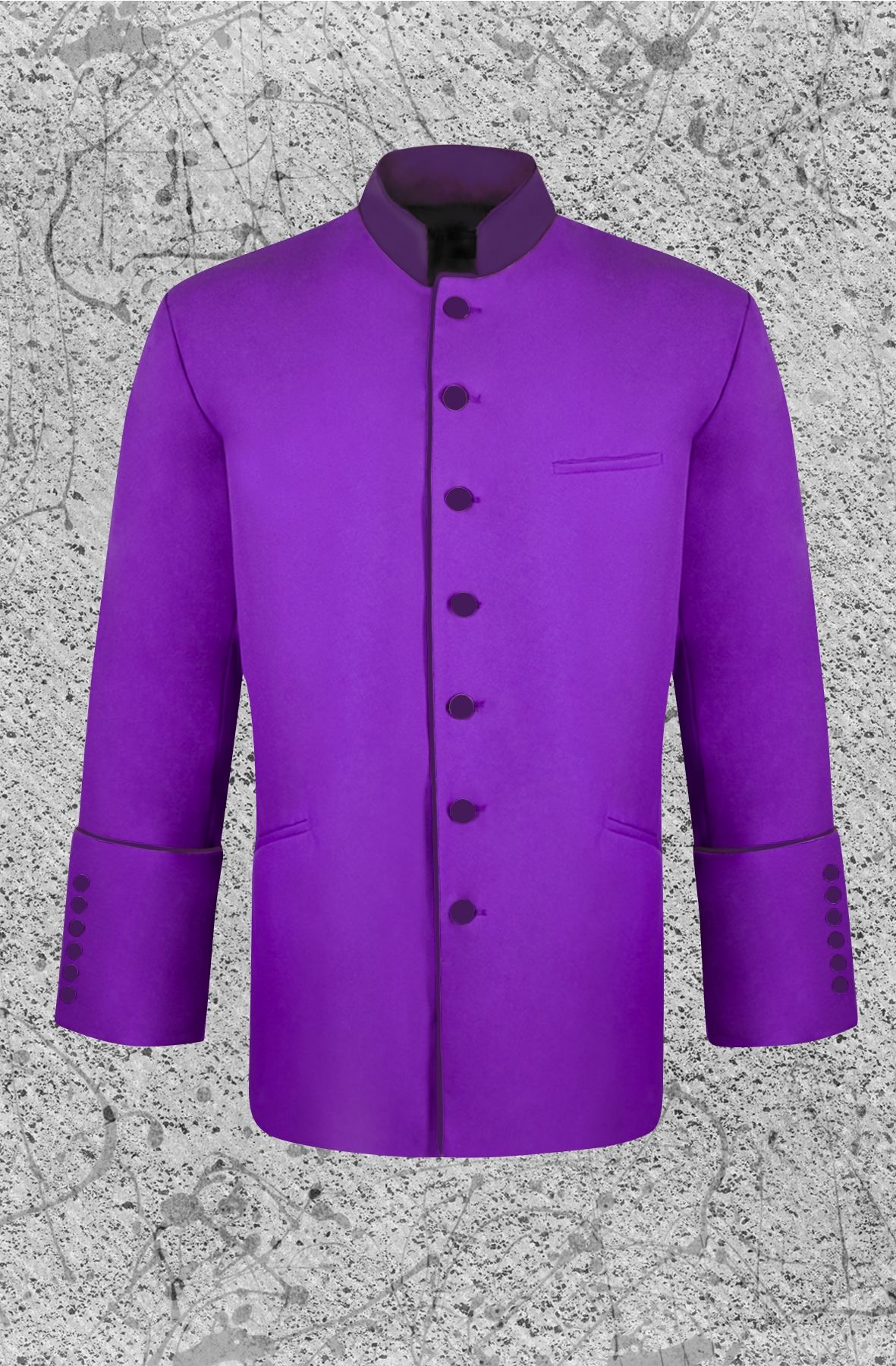 Men's Purple Clergy Jacket