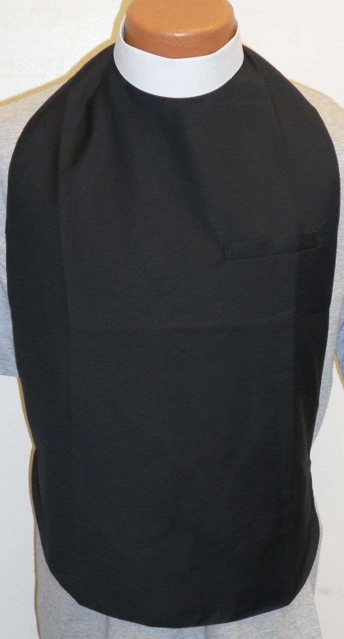 Clergy Shirt Front & Collar - Many Colors