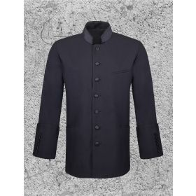 Men's Clergy Jacket Black