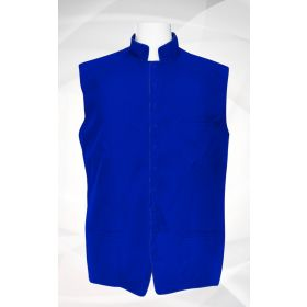 Men's Classic Clergy Vest - Royal