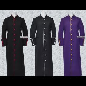 Women's Clergy & Pastor Trim Robes – Promo Clerical Cassocks