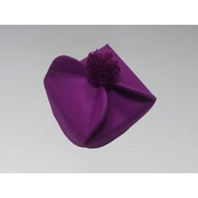 Clergy Biretta Hat Purple