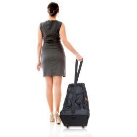 VIP Wheels Roll-On Bag Black