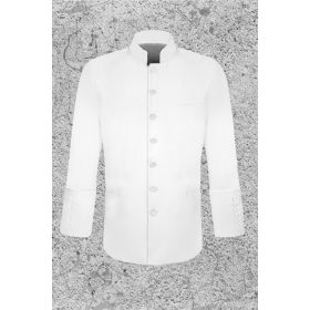 Men's White Clergy Jacket