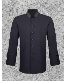 Men's Clergy Jacket Black