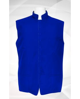 Men's Classic Clergy Vest - Royal