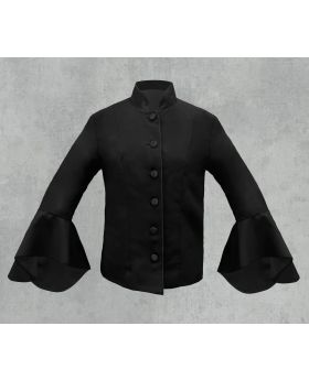 Black on Black Women's Clergy Jacket