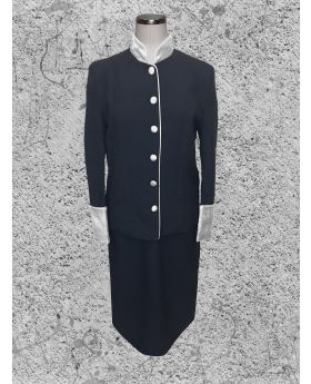 55bb0caf3f5a Men's Premium Black/Gold Clergy Robe / Clergy Cassock - Clergy ...