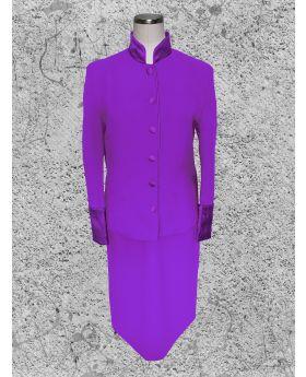 Women's Purple Clergy Suit