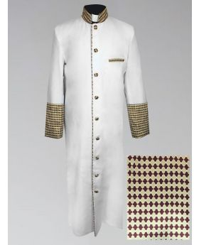 Men's White Christmas Holiday Robe