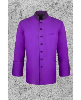 Men's Purple Clergy Jacket