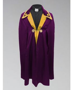 Clergy Ministerial Cape Purple with Gold