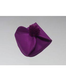 Clergy Biretta Hat Purple
