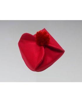 Clergy Biretta Hat Red
