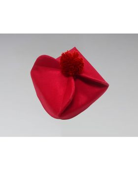 Clergy Biretta Hat Red