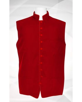 Men's Classic Clergy Vest - Red