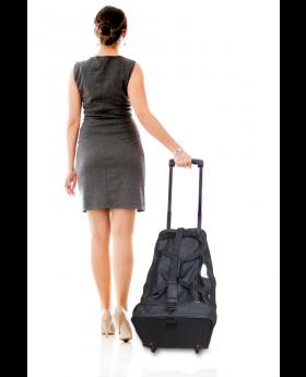 Wheels Roll-On Bag Black