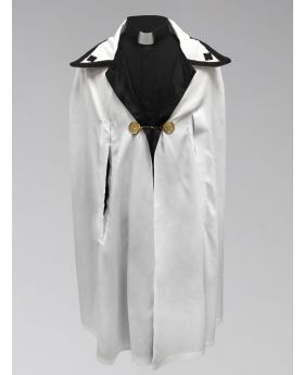 White and Black Ministerial Cape